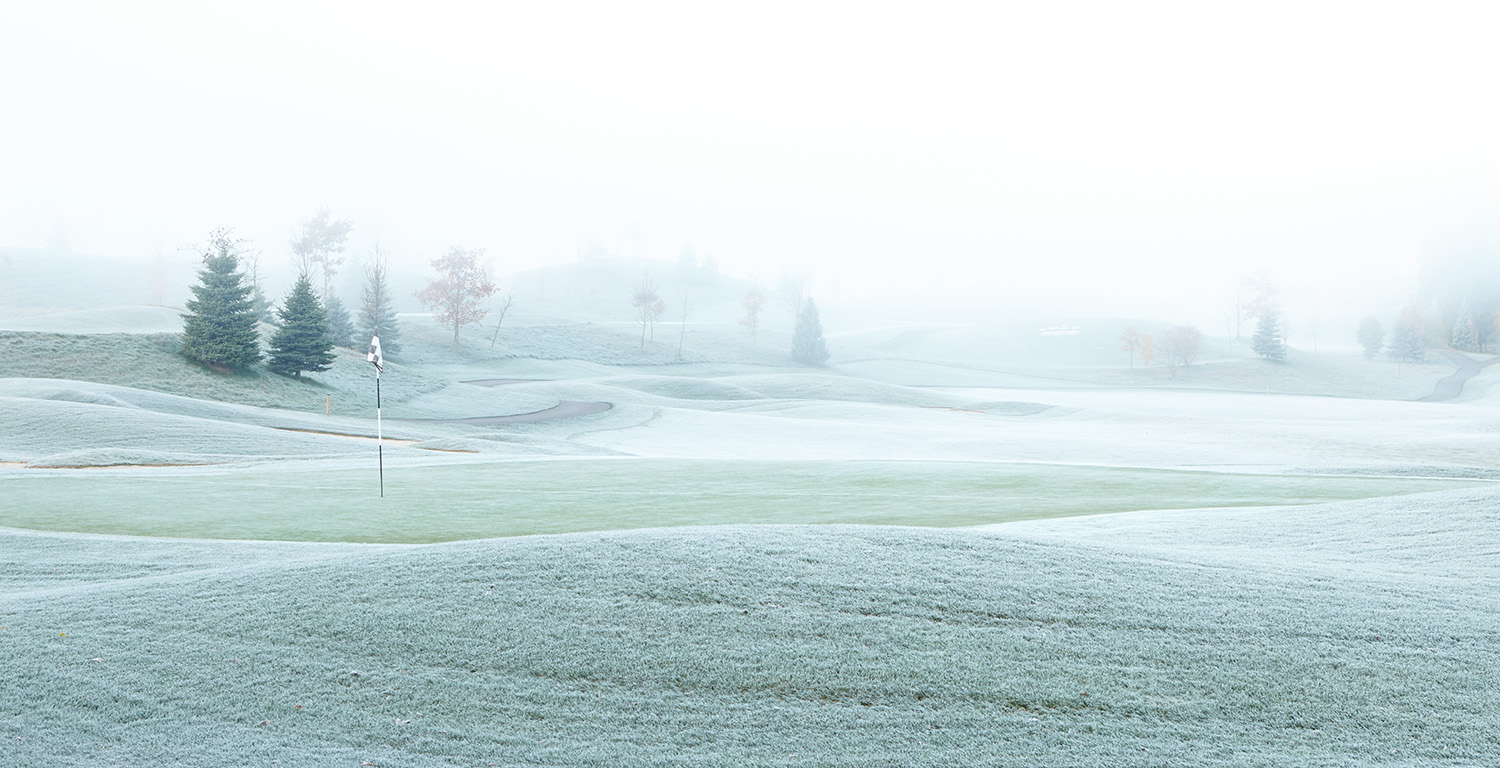 GOLF-COURSE-FROST
